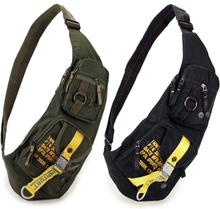 Top Quality Nylon Men Sling Rucksack Chest Bag Satchel Travel Military Waterproof Cross Body Messenger One Shoulder Back Pack