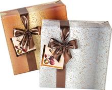 Presentpraliner GOLD inslagen
