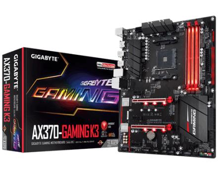 Gigabyte X370 Gaming K3 (GA-AX370-Gaming K3 (rev. 1.0))