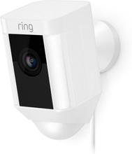 Ring Spotlight Kamera Langallinen - Valkoinen Valkoinen