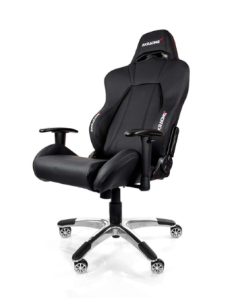 Premium V2 Black Krzes?o gamingowe - Czarny - Skóra PU - 150 kg