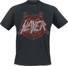 Slayer - Pentagram Redux -T-skjorte - svart