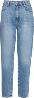 Dagny Mom Jeans Jeans Mom Jeans Blå Gina Tricot