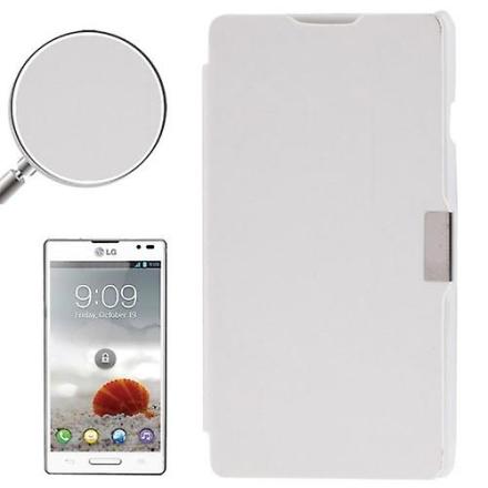 Konig Mobiltelefon täcker fallet för LG Optimus L9 / P760 vit borstad