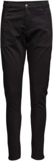 Jolie 606 Gun Black, Pants Rette Jeans Svart FIVEUNITS