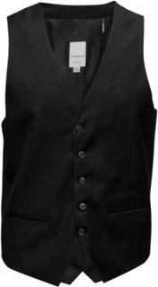 Mens Waistcoat For Suit Dressvest Svart LINDBERGH