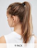 Nike Pack Of 9 Hair Ties - Multi