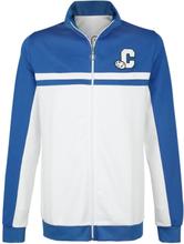 Sesam Stasjon - Krümelmonster - Team Cookie -Treningsjakke - hvit-blå