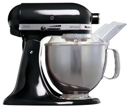 KitchenAid Artisan Kjøkkenmaskin Sort