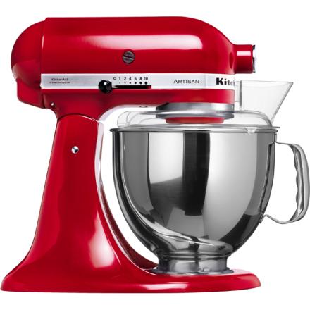 KitchenAid Artisan Kjøkkenmaskin Rød