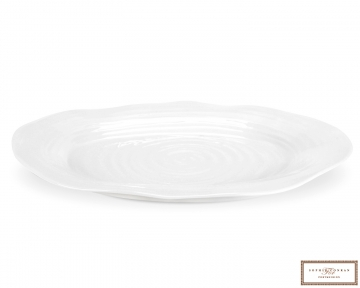 Sophie Conran ovalt fat hvit 43x34cm