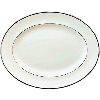 Wedgwood Sterling Oval Dish 35cm