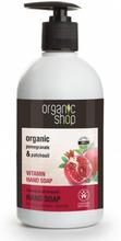 Organic Shop Organic Pomegranate & Patchouli Hand Soap 500 ml