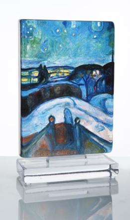 Munch Kunstblokk Stjernenatt