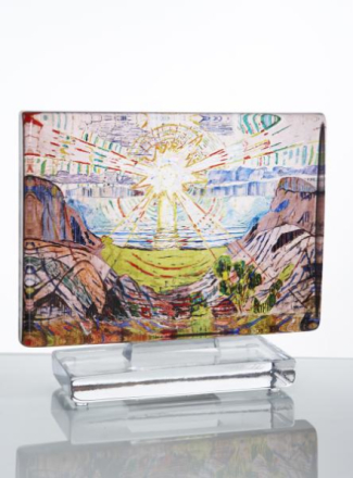 Munch Kunstblokk Solen