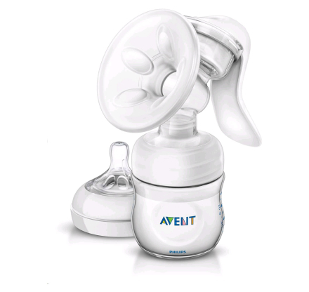 Philips Avent - Breast Pump manual 125ml bottle NATURAL SCF33020 (9031)