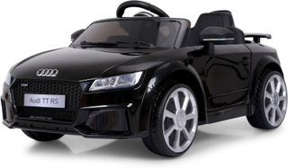 Elbil för barn Audi TTRS 12V 7Ah 2x25W - Svart
