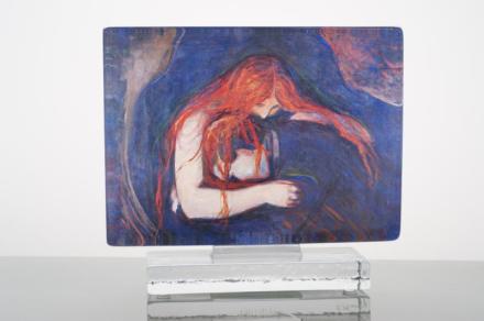 Munch Kunstblokk Vampyr