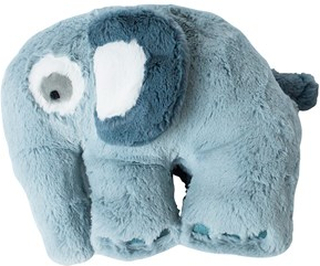 sebra Elefant Gosedjur Cloud Blue