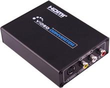 HDMI - AV + S-Video sovitin / converter