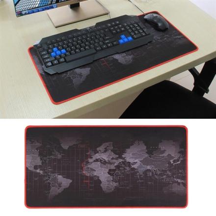 Suuri HiirimattoWorld Map - 60x30cm