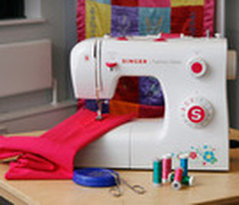 Singer Sewing Machine Fashion Mate 2263T White