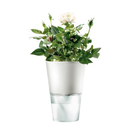 Eva Solo selvvannende urtepotte, frostet hvit Ø 13cm