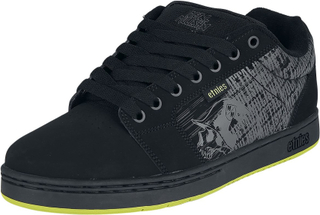 Etnies - Metal Mulisha Barge XL - Sneakers - svart/grön
