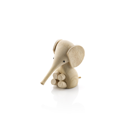 Lucie Kaas Elephant, rubber wood Height 11 cm