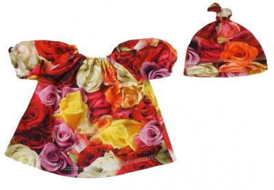 Dockkläder rosor