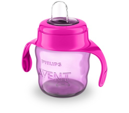 Philips Avent Pipmugg 200 ml. (Rosa)