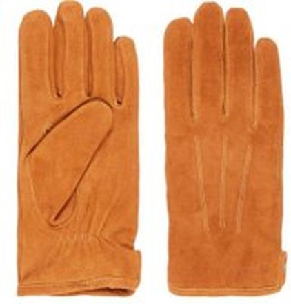 J.LINDEBERG Sono Suede Gloves Man Beige; Brown