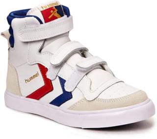 Hummel Stadil Jr Leather High Sneakers Sko Hvit HUMMEL