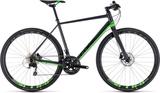 Cube SL Road Race Hybridcykel grön/svart 2018 Hybr