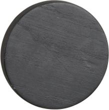 Milford väggknopp svart ek 8 cm
