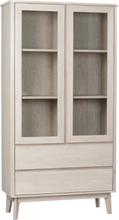 Yumi vitrin lackad vitpigmenterad ek 188 x 100 cm