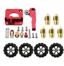 Extruder Upgrade Kit + 4X Leveling Slot + 5X 1.75 0.4mm Nozzle for Creality Ender 5/3 Pro 3D Printer Parts