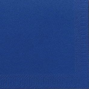 Servietter 3-lags Duni mørkeblå 40cm 1000stk/kar
