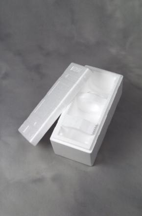 Vinemballage polystyrol 1001 Universal 1stk 28 stk/pak