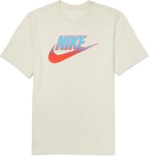 Nike - Logo-print Cotton-jersey T-shirt - Gray - S,Nike - Logo-print Cotton-jersey T-shirt - Gray - L,Nike - Logo-print Cotton-jersey T-shirt - Gray - M,Nike - Logo-print Cotton-jersey T-shirt - Gray - XL,Nike - Logo-print Cotton-jersey T-shirt - Gray - X