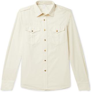 Brunello Cucinelli - Cotton-corduroy Shirt - Neutrals - S,Brunello Cucinelli - Cotton-corduroy Shirt - Neutrals - M,Brunello Cucinelli - Cotton-corduroy Shirt - Neutrals - L,Brunello Cucinelli - Cotton-corduroy Shirt - Neutrals - XXL,Brunello Cucinelli -