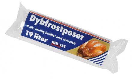Fryseposer Rul-let 19l 35x60cm m/skrivefelt 8ps/rl