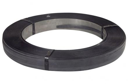 Stålbånd 16x0,50mm ca 50kg/rul brud 640kg, 65x406mm kerne