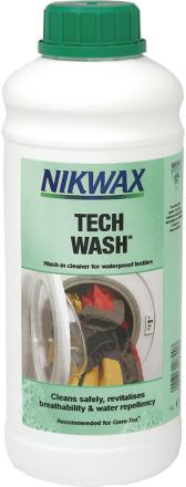 Nikwax Tech Wash 1 l , vihreä/valkoinen 2018 Tekstiilien pesu