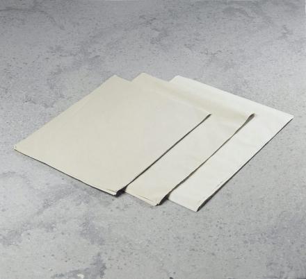 Pladepapir hvidt 45x60cm 45g ca. 770ark/pak = 10kg
