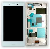 Sony LCD komplett Avläsningsenheten med ram för Xp
