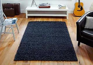 Oriental Weavers Elsa träkol rektangel mattor Plain/nästan slätt ma...