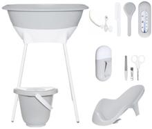 Luma ® Babycare Kylpysetti, Light Grey - harmaa