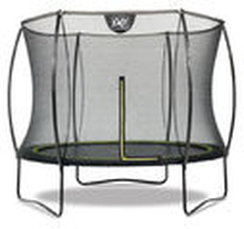 Pieni trampoliini Exit Silhouette 2,44m turvakehällä