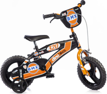 Dino Bikes Barncykel BMX orange 12